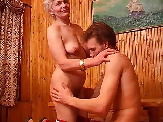 Mom and NOT Her Son Get Drunk and Fuck