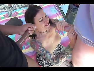 Gangbang Tattooed Nasty Bitch by Cezar73