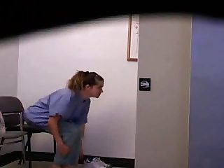 Nurse caught on Hidden Cam