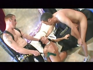 superb julie brutal double anal