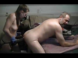 Teen Destroyd mans Ass