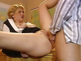 Blond hot Czech Teacher