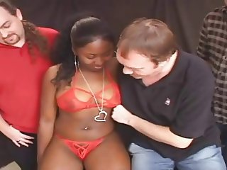 young black girl with delicious body gangbang and facials