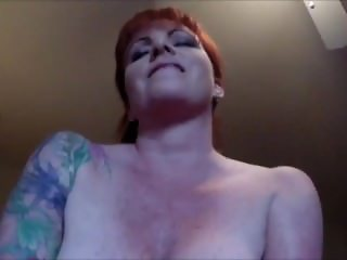 Horny as Hell riding a cock POV video
