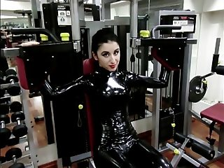 Marilyn Yusuf in hot latex