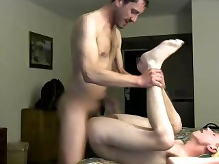 Old Man Fucks Hard Cute 18yo Boy In A Hotel, 1st Time On Cam