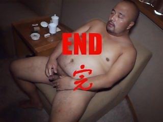 Chinese bear jerk-off