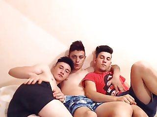 3 Beautiful Romanian Boys With Super Hot Assholes Have Fun