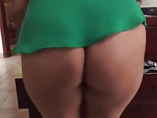 MILFY getting ready for office