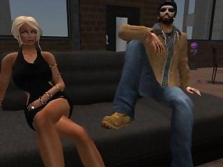 Fred Adjani avec son Ex Venicie en mini robe moulante