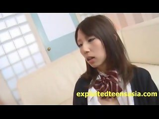 Very Cute Jav Idol Teen Schoolgirl Pussy Sucked And Fucked In Her Uniform