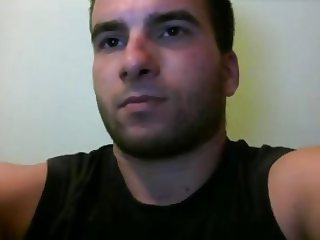Handsome Greek Str8 Boy With Beautiful Big Fat Cock On Cam