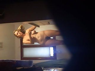 My hot naked wife before shower
