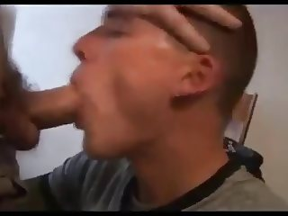 Nerd Lad Rough Face Fucking Blond Jock