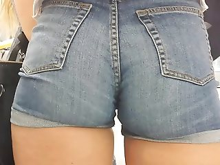 big sexy ass Jeans Shorts 2 hd 2015