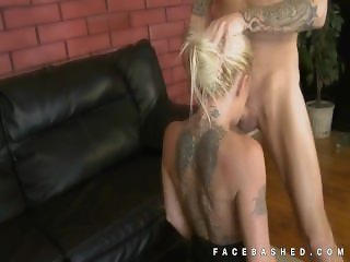 Pornstar Crazy Jane upside down blowjob