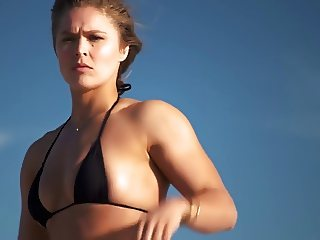 sexy Ronda Rousey  Swimsuit 2015