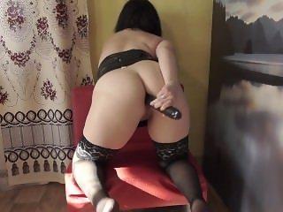 fuck your ass black dildo