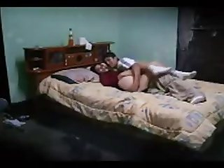 Arab slut woman giving her boyfriend