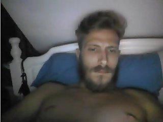 Greek Handsome Webcam Boy With Big Cock Masturbation