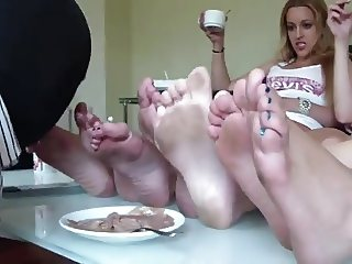 Ice Cream Dirty Feet
