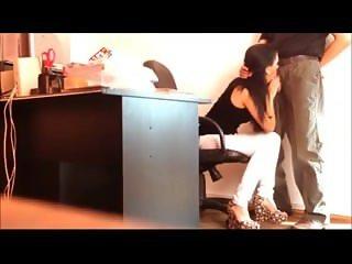 Brunette public work office blowjo. Elna from 1fuckdate.com