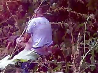 Whore with client caught in woods