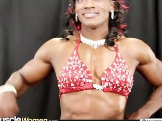 Monique Hayes fbb female muscle