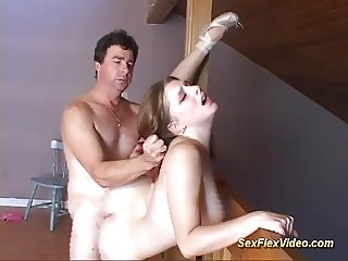 french ballerina loves flexi sex