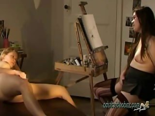 Cate Art School 2 Real Wet Orgasm Finger Her Juicy Wet Pussy
