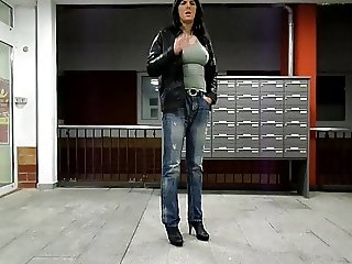 Smocking in Fuck Jeans and Plug