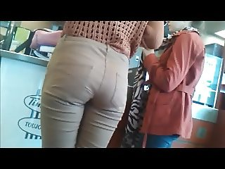 HIDDEN CAM YOUNG TEEN ASS IN JEANS C3&12AJ2