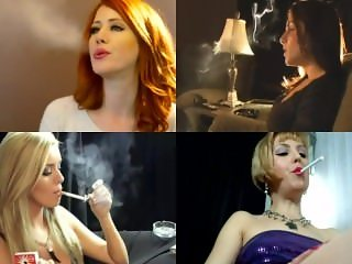 Sissy Training - Beautiful Smokers vs. Gay Action pt2