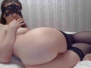 Russian beauty ATM on webcam