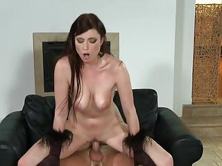 Oiled Str Stone gets hard sex
