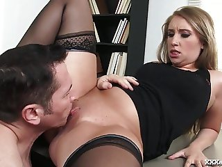 Hot Office Girl Fucked Hard By Her Boss!
