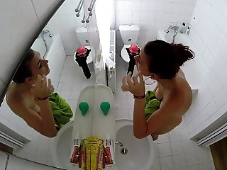 Spycam in a bathroom