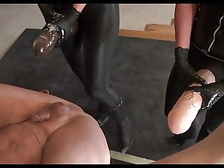 Slave only gets Monster-Strap-ons