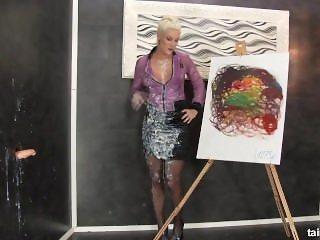 Gloryhole painting