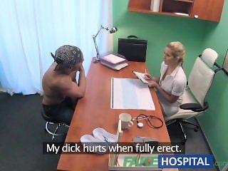 FakeHospital Hot wet pussy solves penis problem