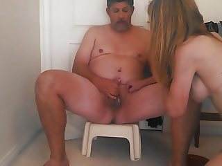 Lady J fucks me till I cum
