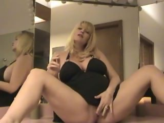 Pregnant Charlee Chase smokes and touches