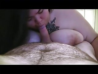Adorable asian BJ with CIM