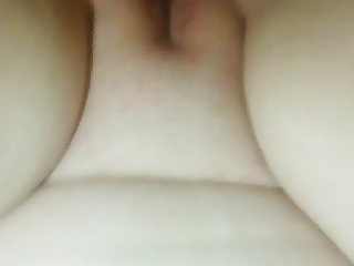 Crying bc she cant handle my dick cuming on her ass
