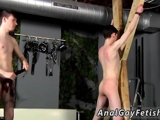 Extreme brown gay porn with big black dicks Victim Aaron gets a whipping,