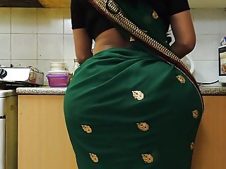 Indian Bhabhi's HUGE ass
