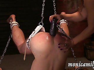 In MonicaMilf s Femdom dungeon - used in 30 min