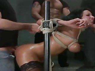 Brutal Double Penetration Gangbang