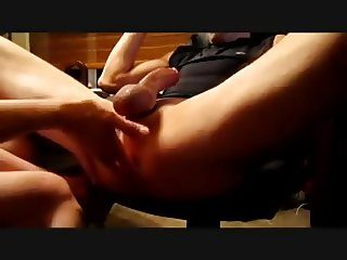 Prostate pleasure from my nasty girlfriend