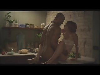 Housewife and husband fuck on kitchen
